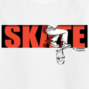 skate_by_jonsh - Kids' T-Shirt