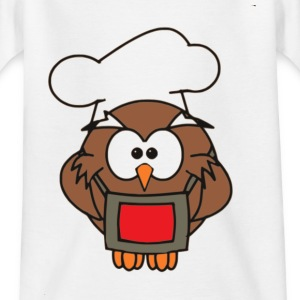 Cook Owl - T-skjorte for barn