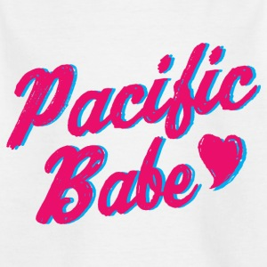 Pacific Babe - Kids' T-Shirt