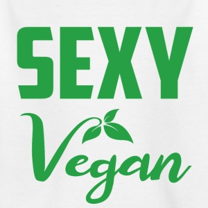 sexy vegan - Kids' T-Shirt
