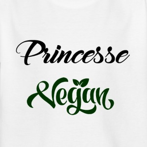 princesse vegan - T-shirt Enfant