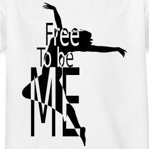 FREE_TO_BE - Kinder T-Shirt