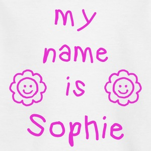 SOPHIE MY NAME IS - T-skjorte for barn
