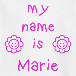 MY NAME IS MARY - T-skjorte for barn