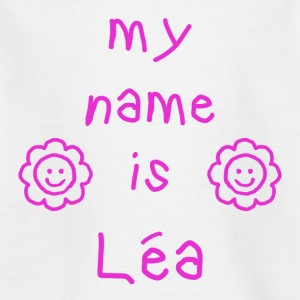 LEA MEIN NAME - Kinder T-Shirt