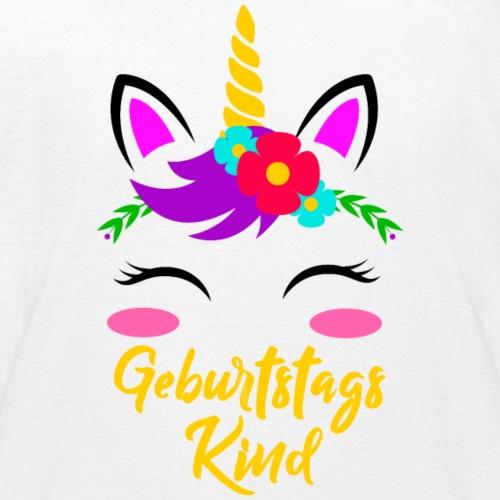 Einhorn Geburtstag Kind Geburtstagskind - Kinder T-Shirt