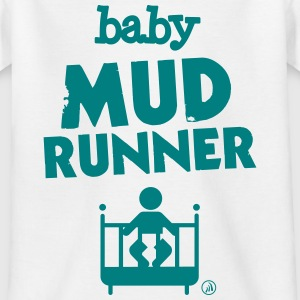 Baby modder runner - Kinderen T-shirt