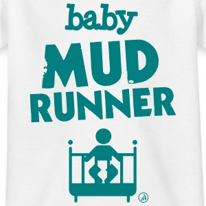 Baby mud runner - Kids' T-Shirt