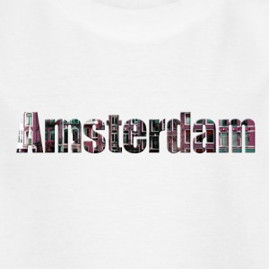 «Amsterdam» Digitalart - Kinder T-Shirt