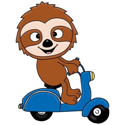 Faultier - Roller - Kinder - Tier - Comic - Kinder T-Shirt