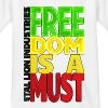 Freedom is a must - Kids' T-Shirt