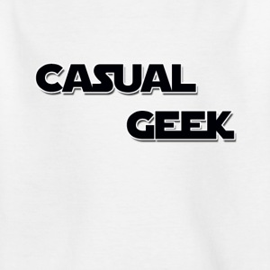 CasualGeek Standard Logo - T-skjorte for barn