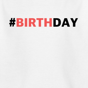 Pink birthday - Kids' T-Shirt