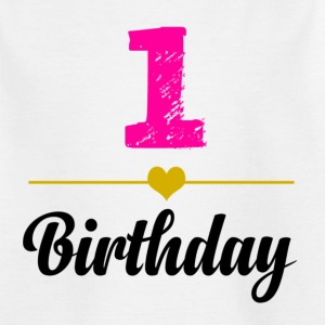 1birthday - T-shirt barn