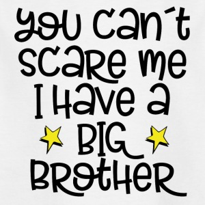 You can't scrape me - big brother - Kids' T-Shirt
