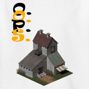 3D house - Kids' T-Shirt