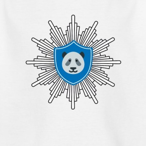 Panda coat of arms dab badge panda dabbing touch LOL - Kids' T-Shirt
