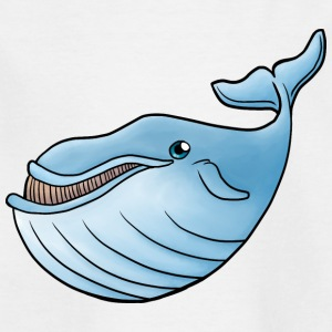 Little Blue Whale - T-shirt barn