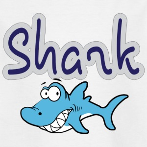 Cartoon Shark - Kinder T-Shirt