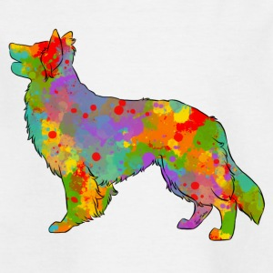 Altdeusche Schaferhunde Multicolor - T-skjorte for barn