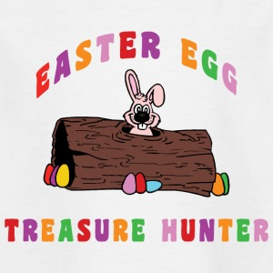 Easter Egg Treasure Hunter - Kids' T-Shirt