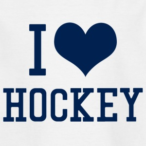 J'aime le hockey - T-shirt Enfant