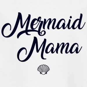 Mermaid Mama T skjorte Morsdag gave - T-skjorte for barn