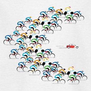 cyclistes de Critical Mass à travers - T-shirt Enfant