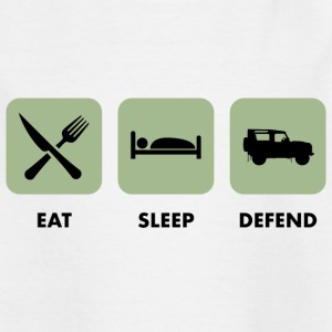 Eat, Sleep & Defend - T-shirt Enfant