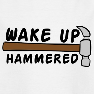 Dakdekkers: Wake Up Hammered - Kinderen T-shirt