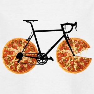 Pizza Bike - Børne-T-shirt