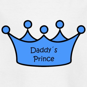 Daddy's Prince - Kinderen T-shirt