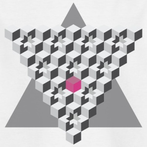cube's & triangle - Kids' T-Shirt