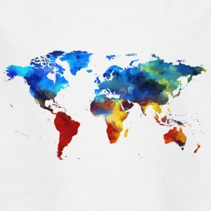 World's map - Kids' T-Shirt