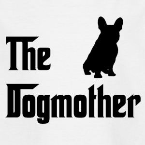 Dogmother Svart - T-shirt barn