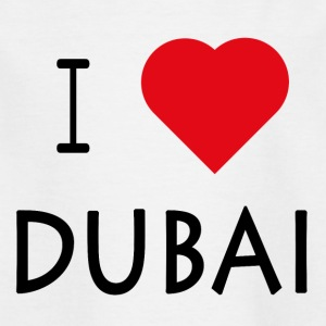 I Love Dubai - Kinder T-Shirt