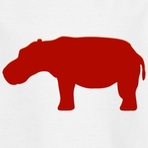 Real Hippo - Kinderen T-shirt