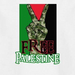 Free Palestine - Peace - Save Gaza T-Shirt - Kids' T-Shirt