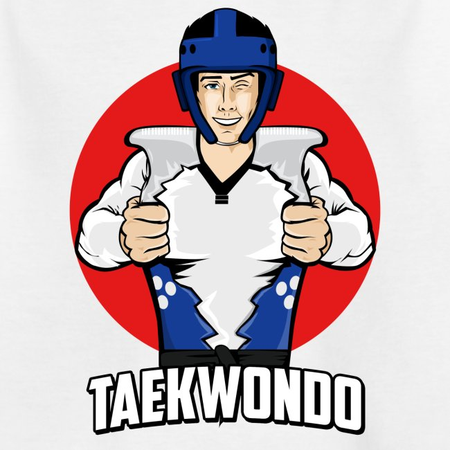 Nouveau Design Taekwondo Dessin Animé Cartoon