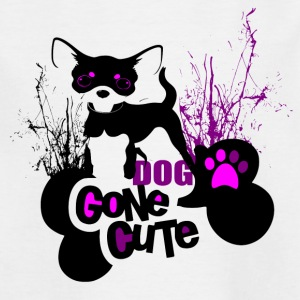 Dog Cone Cute - - Kids' T-Shirt