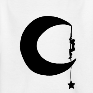 climb the stars - Kids' T-Shirt