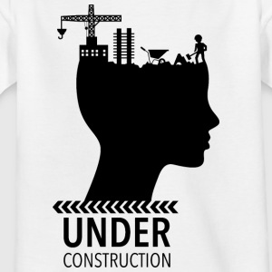 Cerveau Under Construction | adolescence - T-shirt Enfant