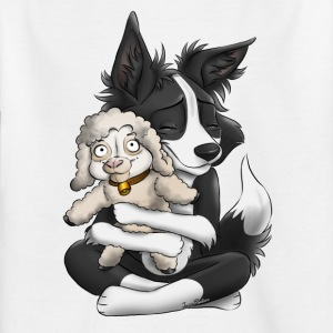 I'm a Sheepdog - black - Kids' T-Shirt