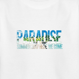 Paradise - Zomer, here we come! - Kinderen T-shirt