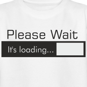 PLEASE_WAIT - Camiseta niño