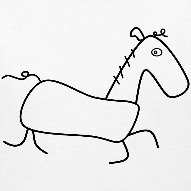 Das Pferd Günther