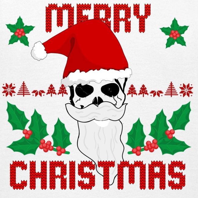 Merry Christmas Skull