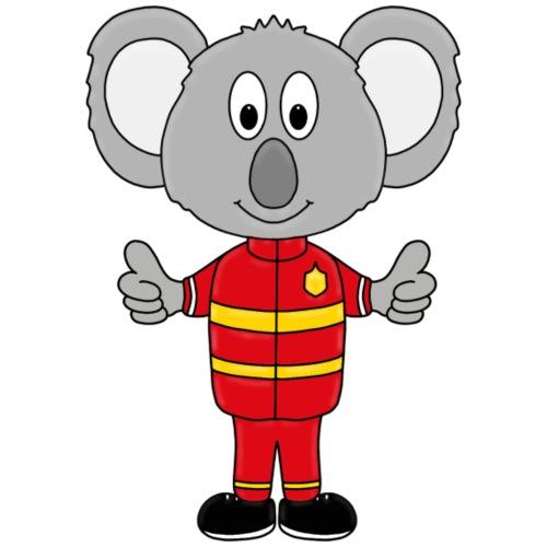Koala - Feuerwehr - Kinder - Tier - Comic - Kinder T-Shirt