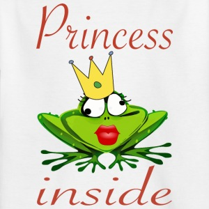 Prinsesse Inside - T-skjorte for barn