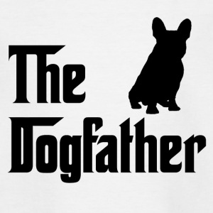 The Dogfather Schwarz - Kinder T-Shirt